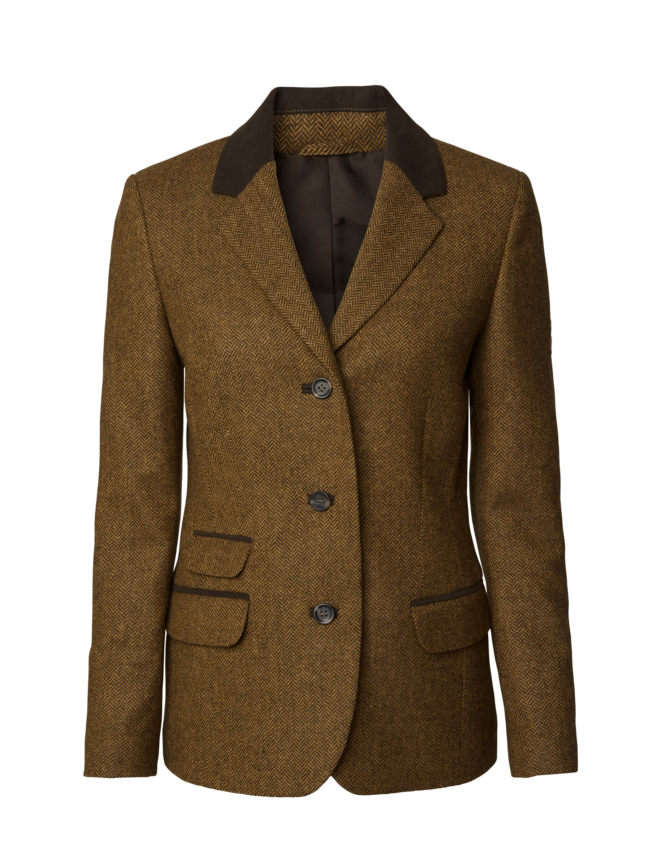 Hawick Tweed Lady Blazer Chevalier
