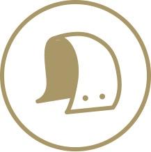 Avtagbar huva icon