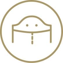 Förhöjt ryggslut icon