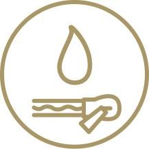 vattenavvisande dragkedja icon
